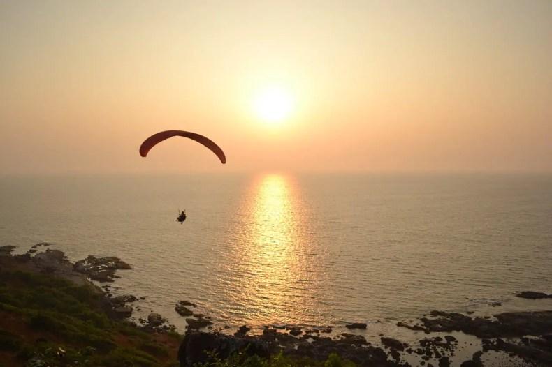 Parasailing, Goa Beach