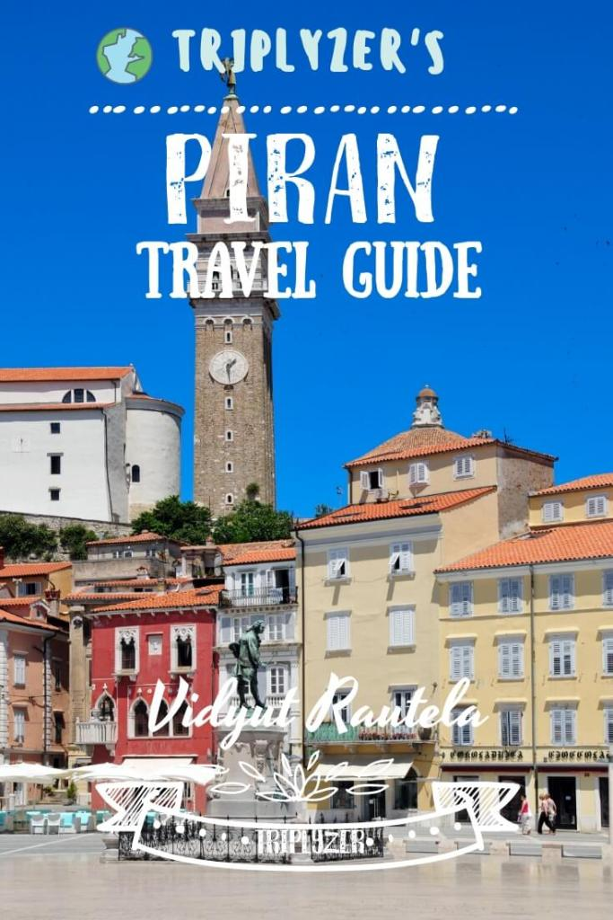 Piran Travel Guide Pinterest