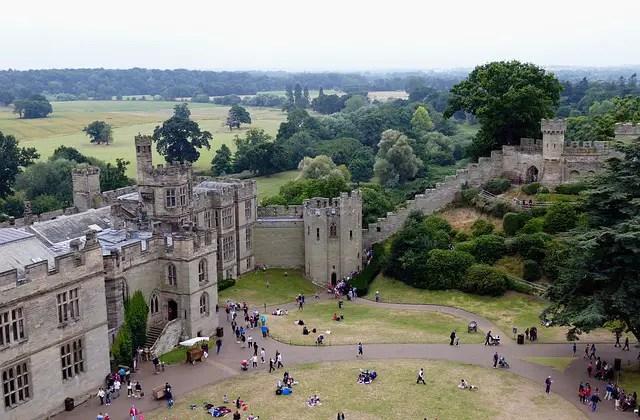 Warwick Castle. Warwickshire