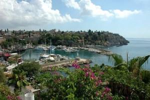 A view of Antalya bay