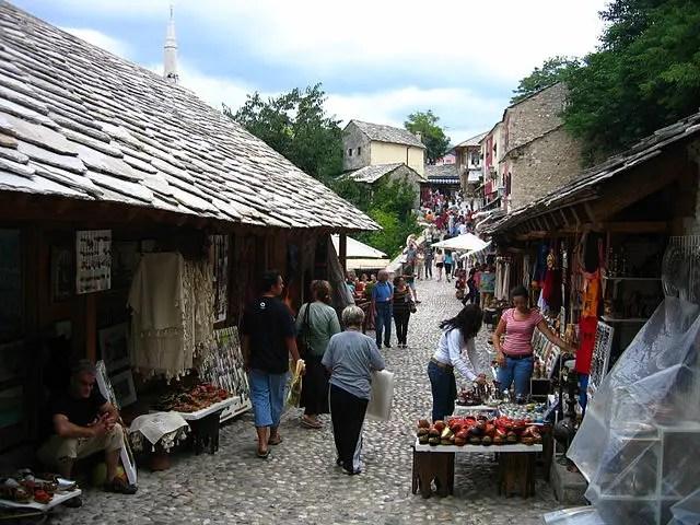 Mostar Old Bazaar