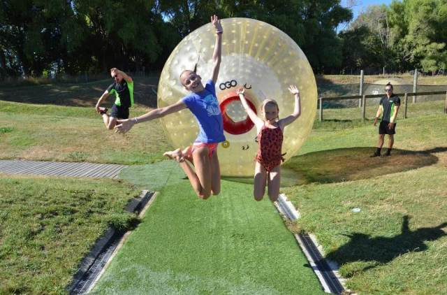 ZORB Inflatable Ball Adventure