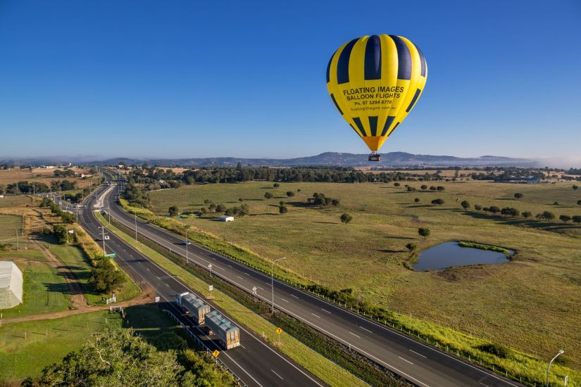 Greater Brisbane Scenic Hot Air Balloon Flight