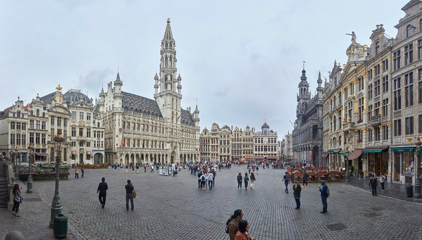 the City Hall grand place brussels belgium
