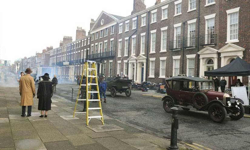 the Rodney street filming Peaky Blinders tour