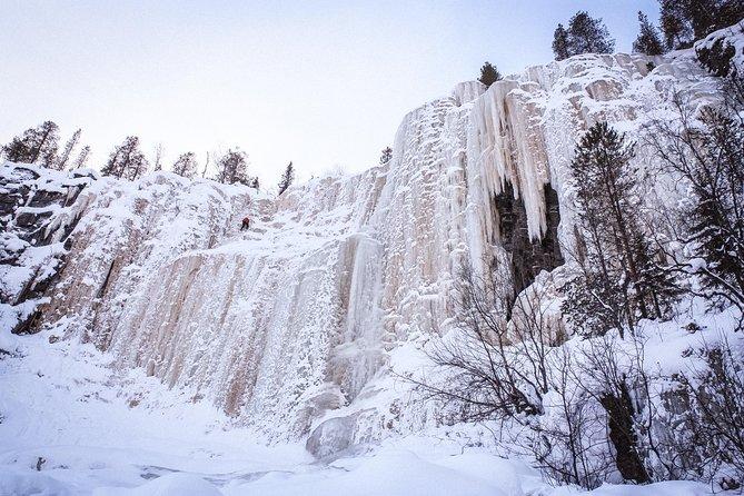 The Frozen Waterfalls of Koroma