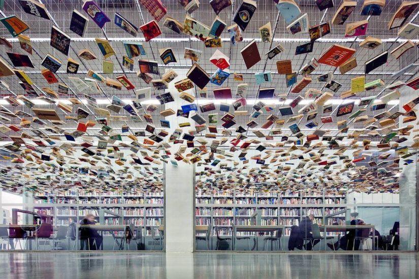 The Kütüphanesi in The Istanbul Museum of Modern Art