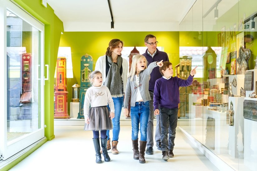 parent and kids visit Choco-Story Brussels