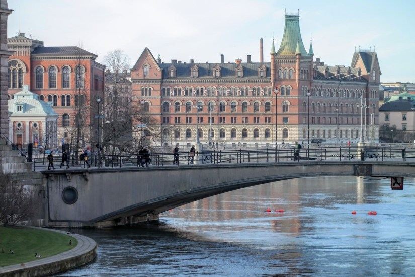 Bridge in Stockholm