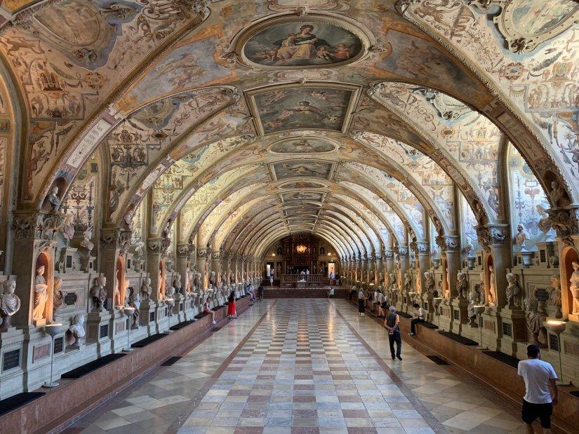 Antiquarium of Munich Residenz