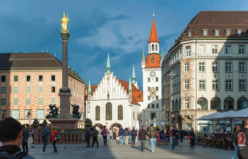 New Town Hall at Munich Marienplatz