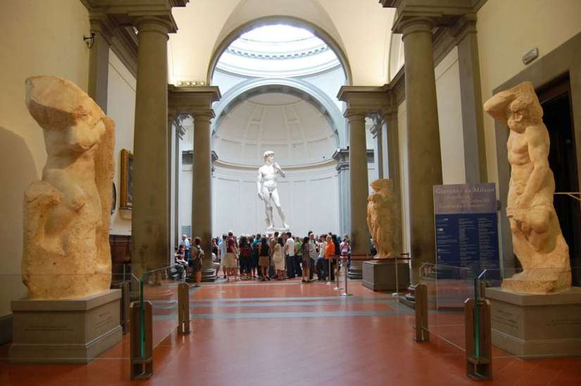 David by Michelangelo at Galleria Accademia