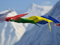 Nepal, prayer flags