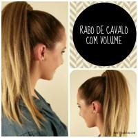 TUTORIAL: RABO DE CAVALO COM VOLUME