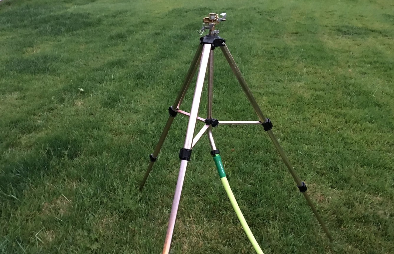 Top 5 Best Tripod Lawn Sprinklers For Your Garden + Reviews | TP