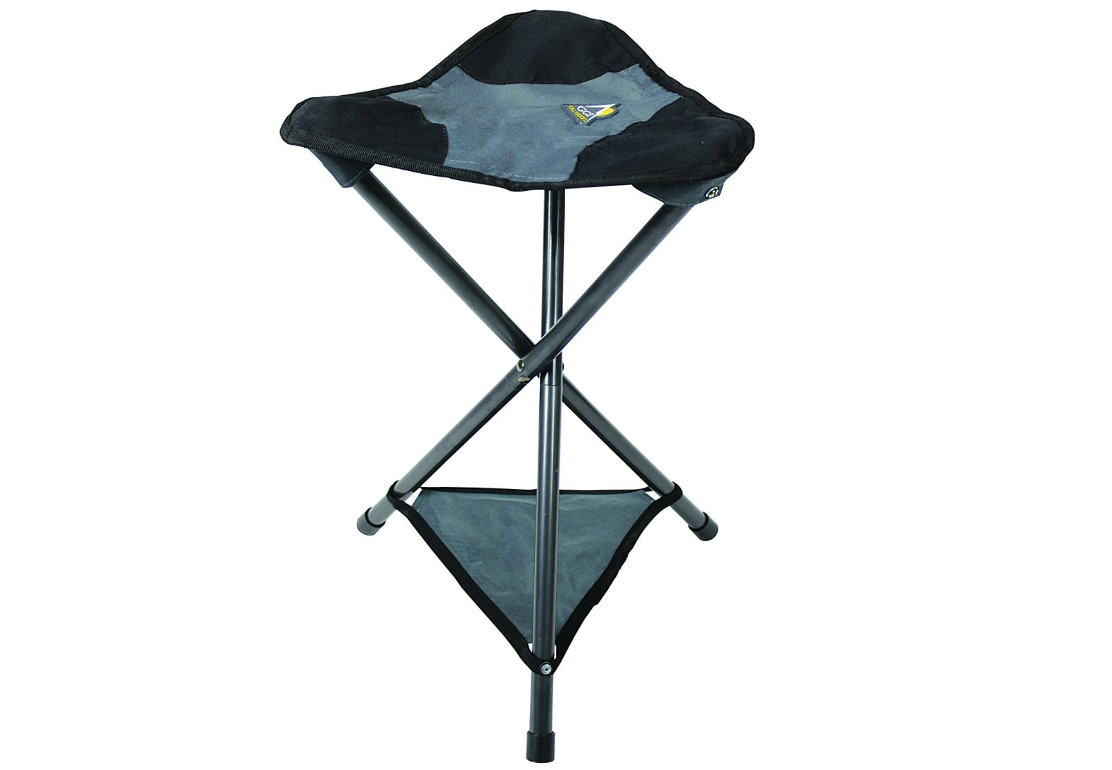 portable stool grey
