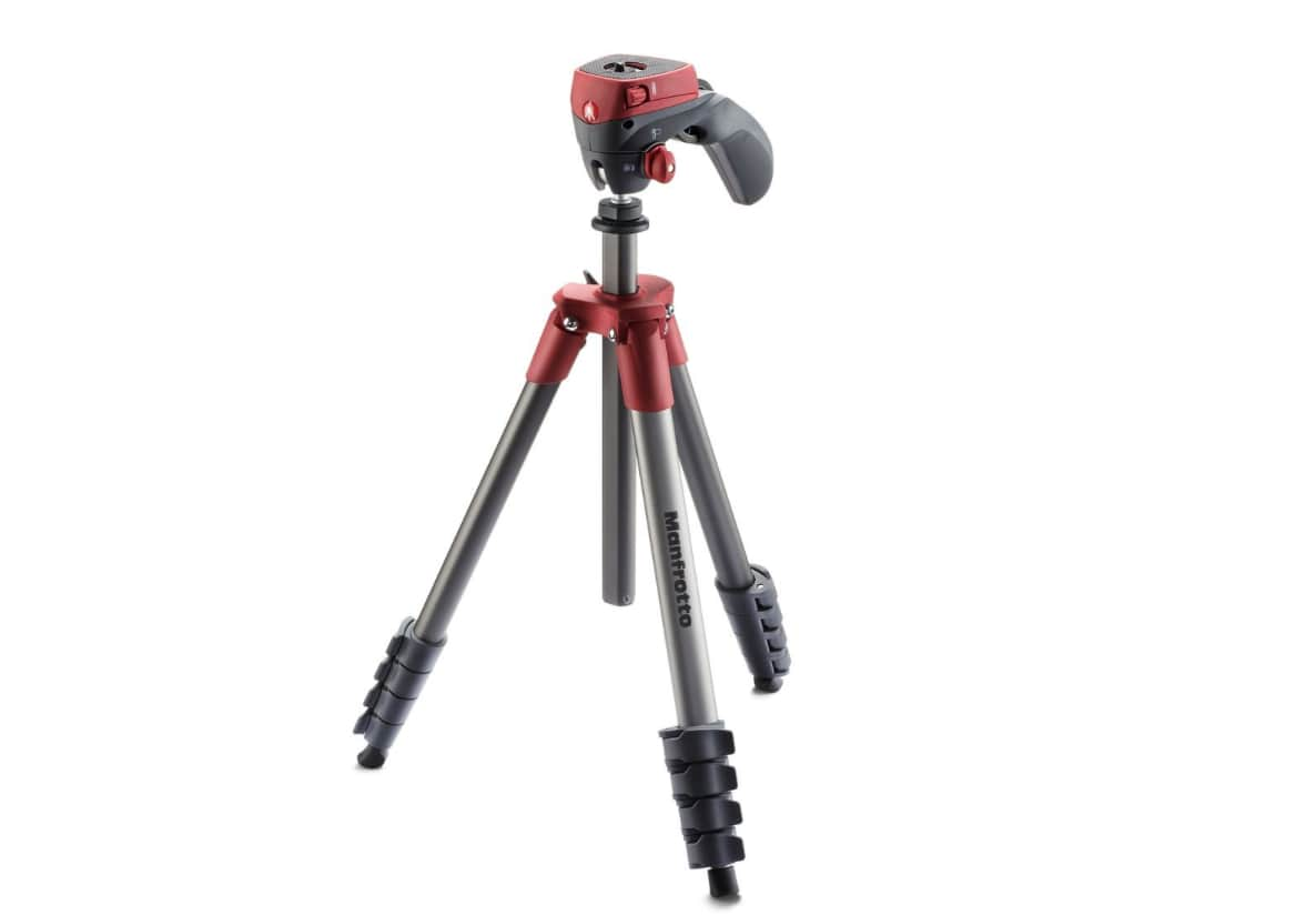 Manfrotto MKCOMPACTACN-RD Compact Action Tripod best manfrotto tripods
