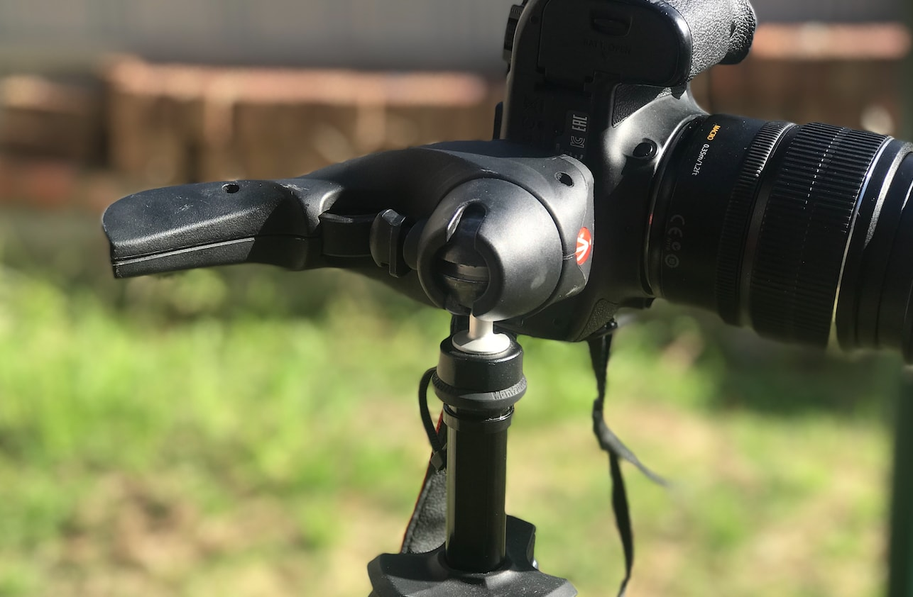 Manfrotto Compact Action Tripod pistol ball head