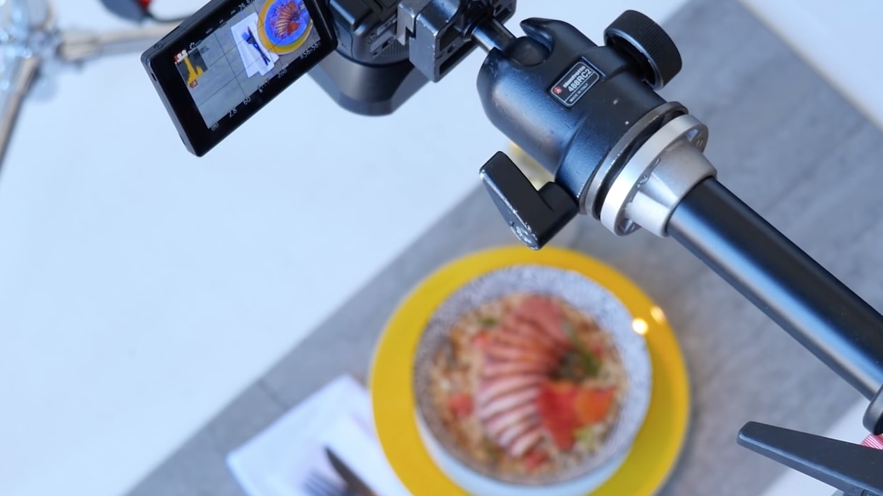 How to capture overhead photography shots for food & products