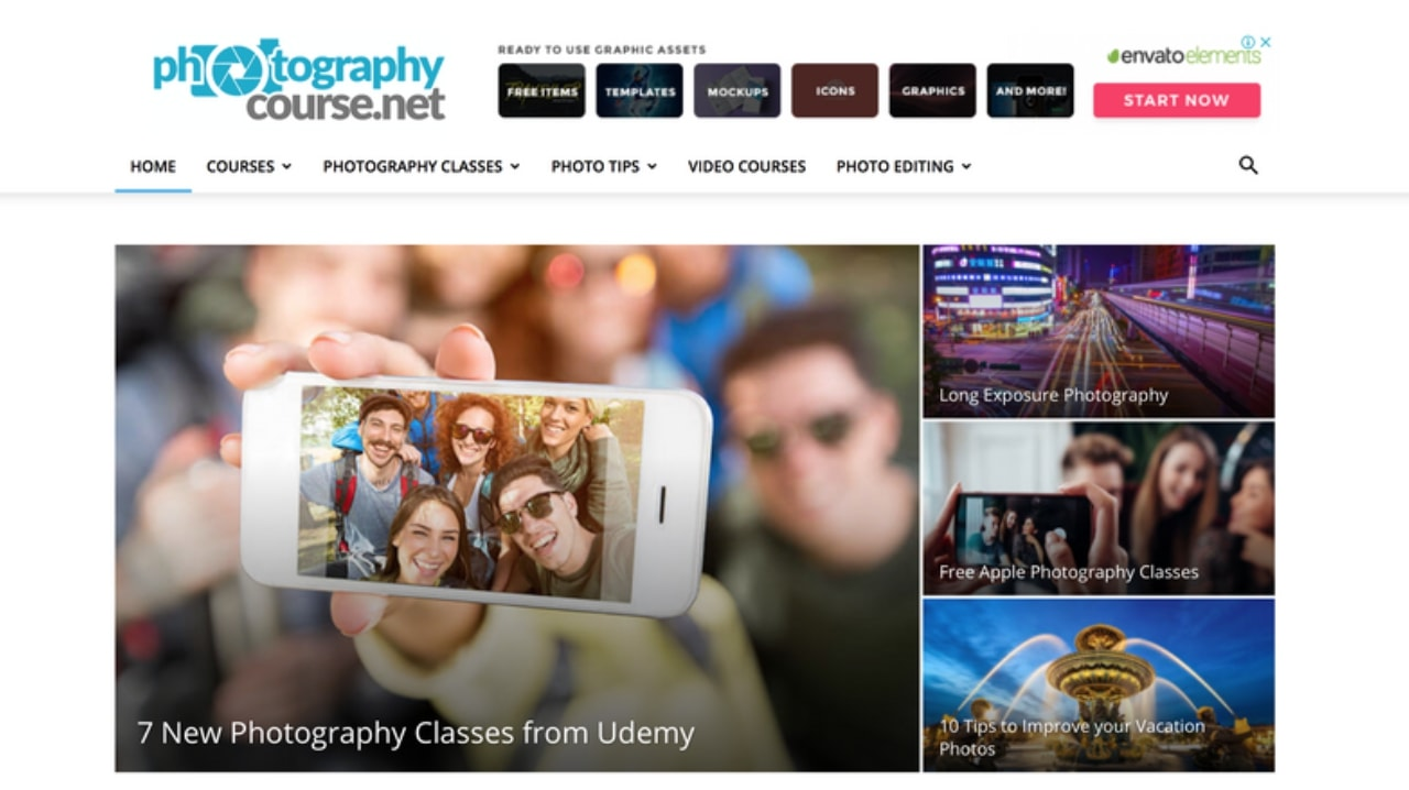 Beginner Photography Course- Photographycourses.net