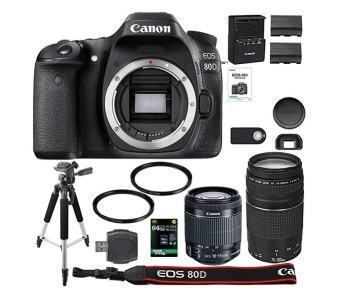 Canon EOS 80D Kit With 2 Lenses review safari