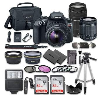 Canon EOS Rebel T6 DSLR Camera Bundlereview