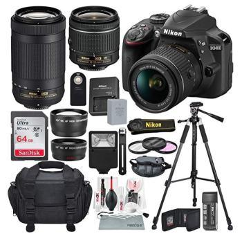 Nikon D3400 Kit With Tripod, Lenses & More review