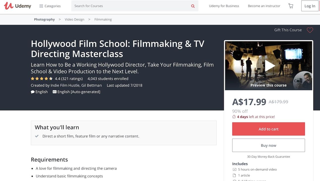 Udemy - Film Directing