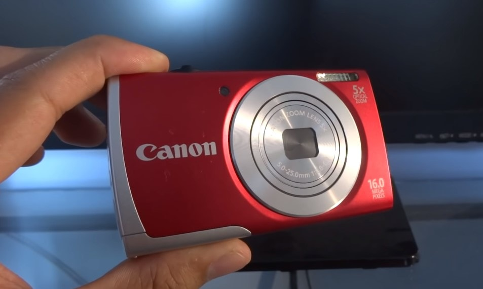 Canon PowerShot A2500 16MP Digital Camera With 5x Optical Image Stabilized Zoom 27 Inch LCD Min