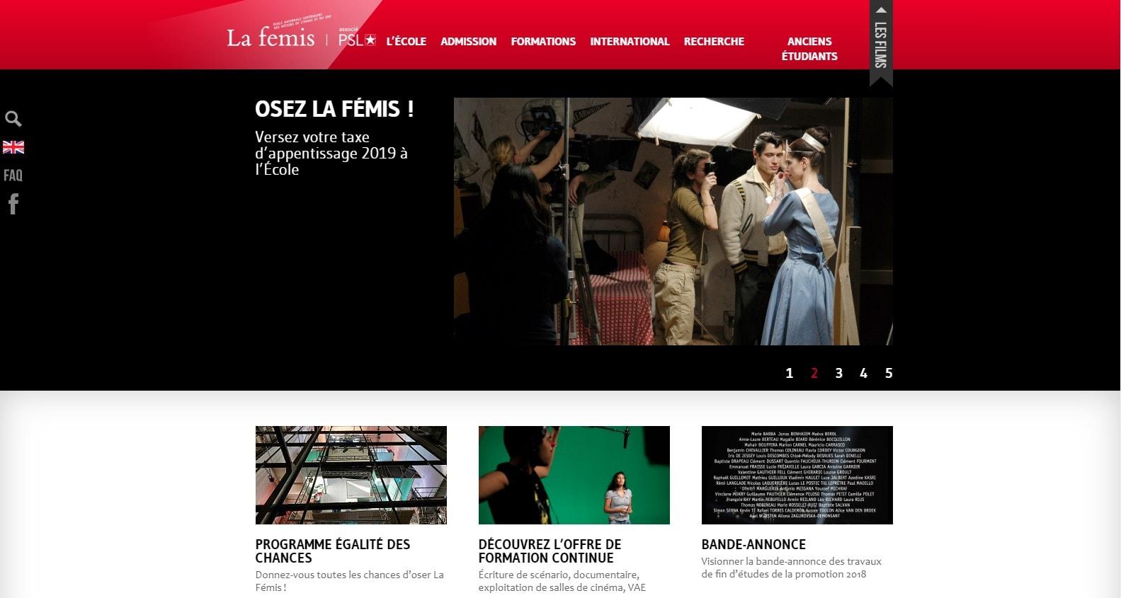 La Fémis film school