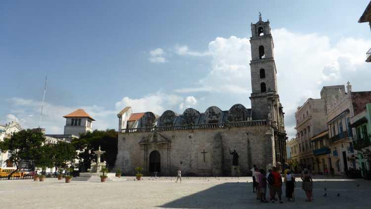 Plaza San Francisco Havana, Cuba