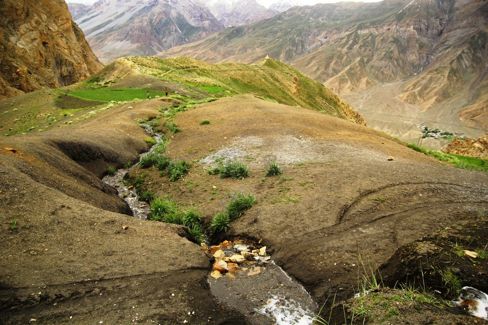 Extended landscapes in Spiti Valley