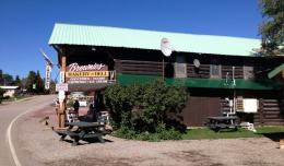 Brownies Hostel near Glacier National Park in Montana is an example of a hostel in America.