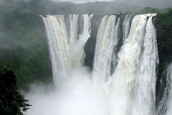 Kunchikal Falls waterfalls in India