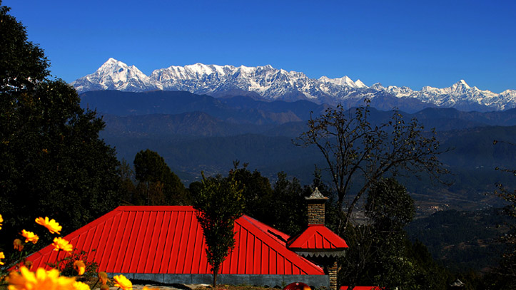 kausani places in india to visit