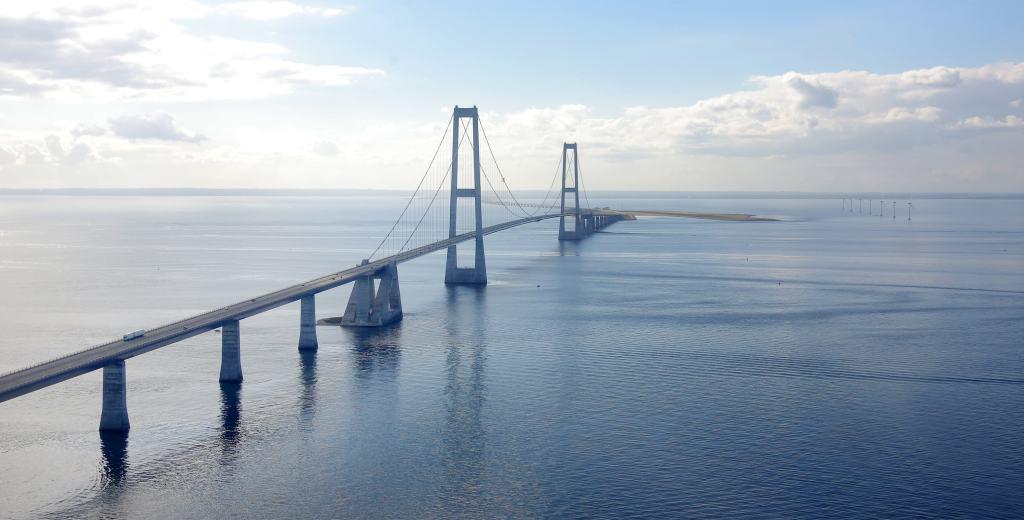 Great Belt Bridge, Zealand, Denmark