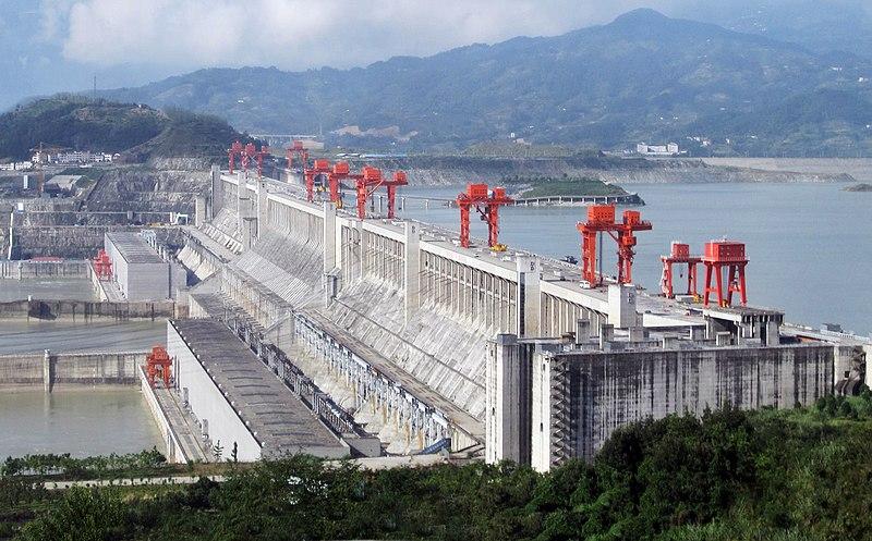 Three Gorges Dam (Sandouping, Hubei, China)