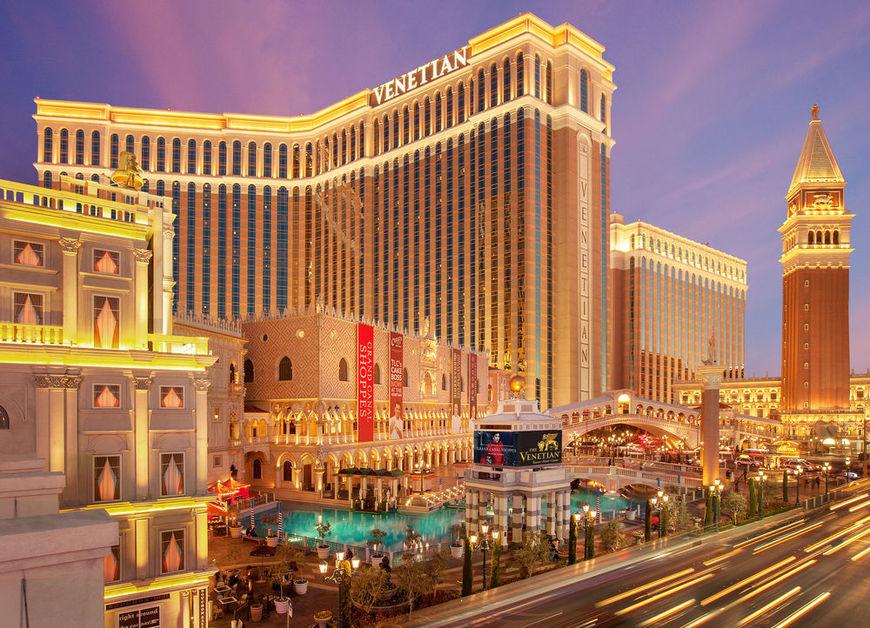 The Venetian Resort Hotel, Nevada biggest hotels in the world
