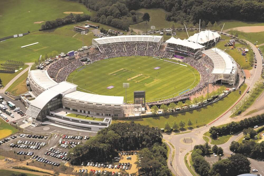 Ageas Bowl, Southampton. Capacity: 20,000: Largest Cricket Grounds In the World
