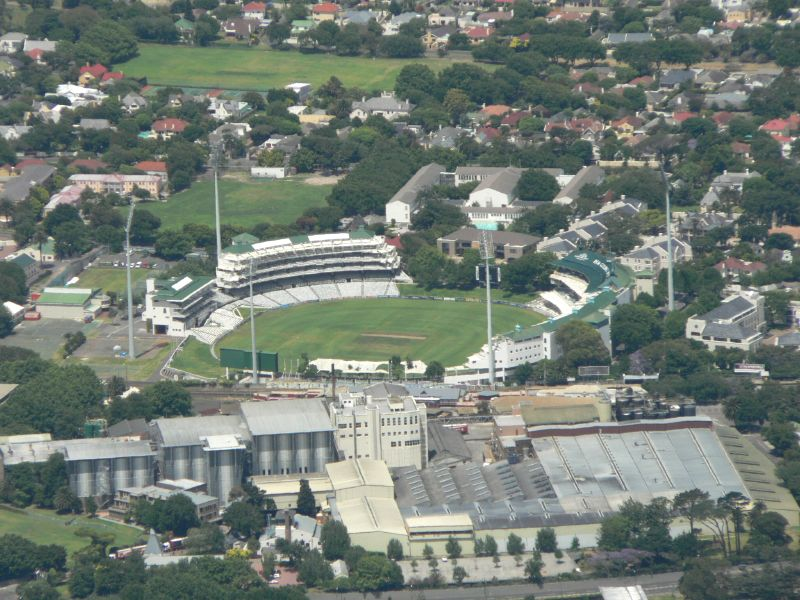 Newlands, Cape Town, South Africa. Capacity: 25,000 : Largest Cricket Grounds In the World