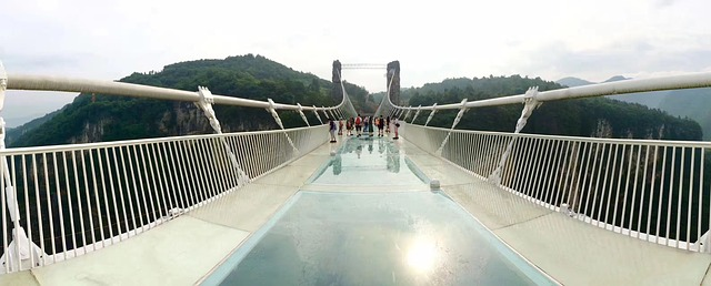 Zhangjiajie Glass Bridges In The World