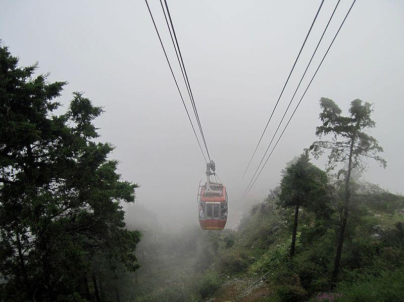Gun Hill Cable Car, Mussoorie, Uttarakhand