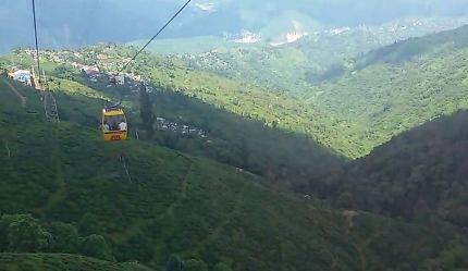 Rangeet Valley Cable Car, Darjeeling, West Bengal