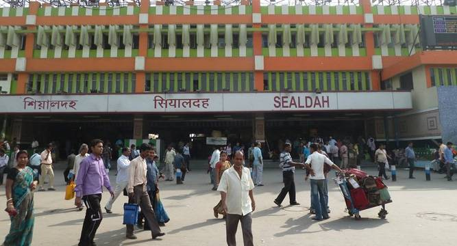 Sealdah, Kolkata Biggest Railway Stations in India