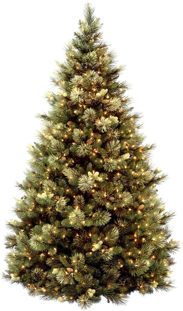 Best Artificial Christmas Trees, National Tree 7.5 ft Carolina Pine Tree