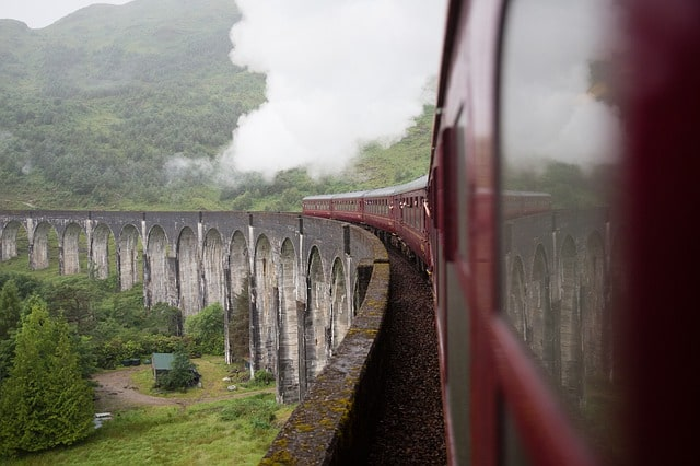 The Jacobite: Harry Potter Filming Locations