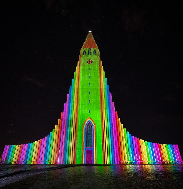 Reykjavik Winter Lights Festival – Reykjavik, Iceland