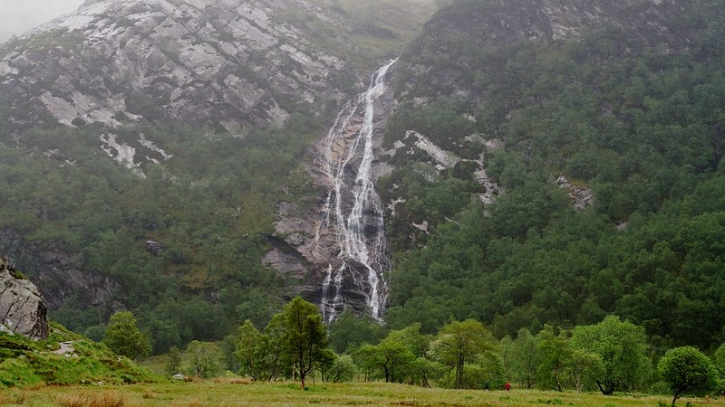 Steall falls: Harry Potter  Locations