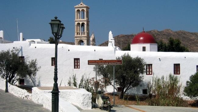Discover the Monastery: Mykonos