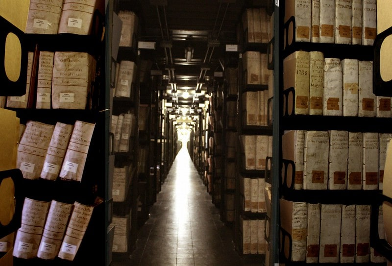 Vatican Secret Archives, Vatican City forbidden places in the world